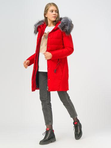 Пуховик 100% полиэстер, цвет красный, арт. 08108567  - цена 9990 руб.  - магазин TOTOGROUP