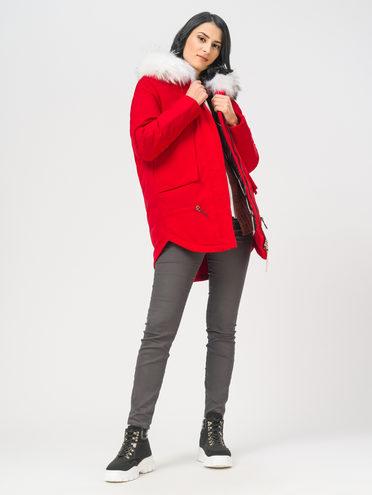 Пуховик 100% полиэстер, цвет красный, арт. 08108628  - цена 12690 руб.  - магазин TOTOGROUP
