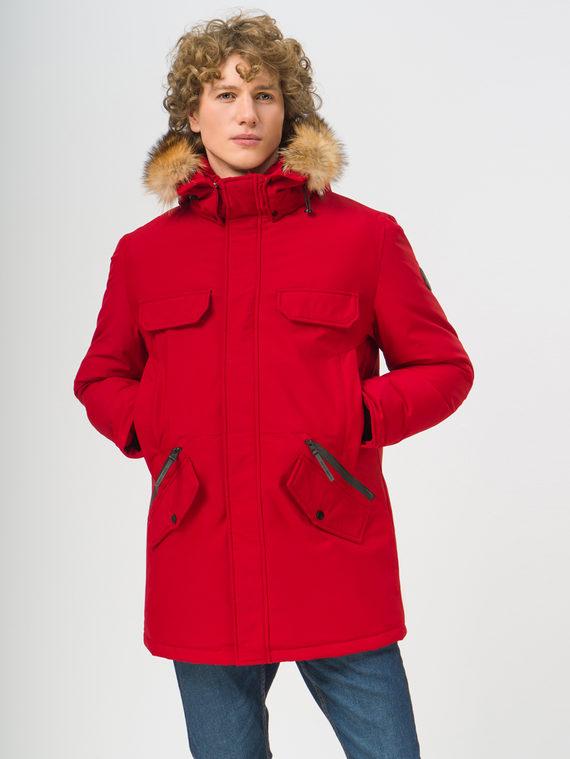 Пуховик 100% полиэстер, цвет красный, арт. 08108682  - цена 6630 руб.  - магазин TOTOGROUP