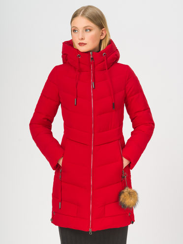 Пуховик 100% полиэстер, цвет красный, арт. 08108742  - цена 6990 руб.  - магазин TOTOGROUP
