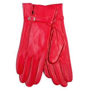 Перчатки кожа овца, цвет красный, арт. 08700273  - цена 903 руб.  - магазин TOTOGROUP