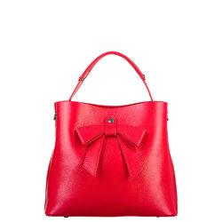 Сумка кожа, цвет красный, арт. 08700540  - цена 5990 руб.  - магазин TOTOGROUP