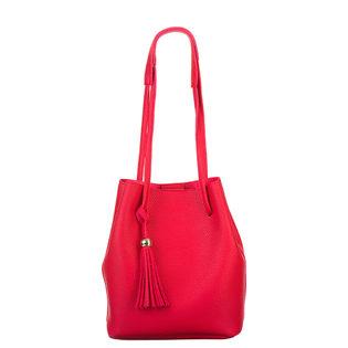 Сумка эко кожа 100% П/А, цвет красный, арт. 08700551  - цена 2840 руб.  - магазин TOTOGROUP