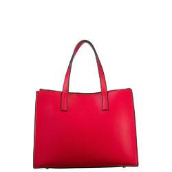 Сумка кожа теленок, цвет красный, арт. 08700565  - цена 5590 руб.  - магазин TOTOGROUP
