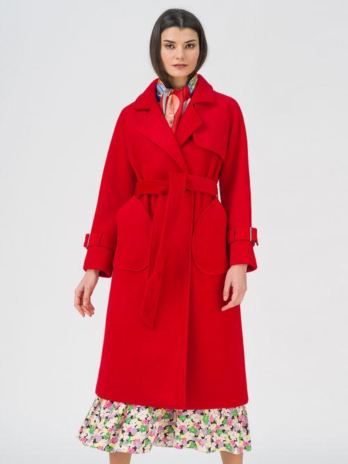 Текстильное пальто артикул 08711392/42 - фото 3