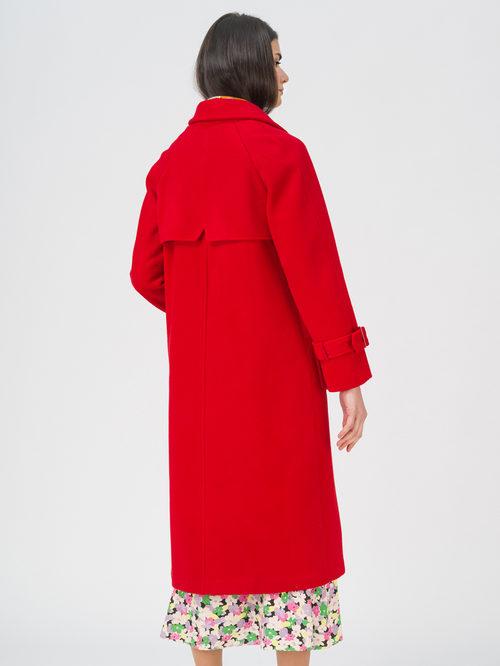 Текстильное пальто артикул 08711392/42 - фото 4