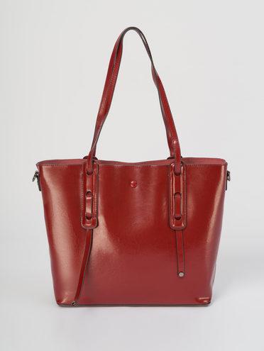 Сумка кожа теленок, цвет красный, арт. 08711629  - цена 4740 руб.  - магазин TOTOGROUP