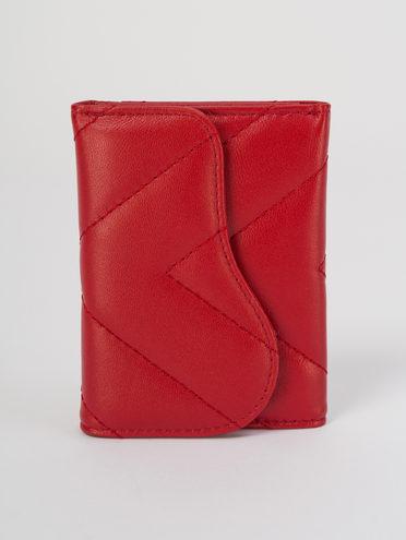 Кошелек женский кожа, цвет красный, арт. 08711698  - цена 1260 руб.  - магазин TOTOGROUP