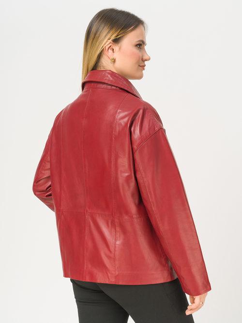 Кожаная куртка артикул 08802502/52 - фото 3