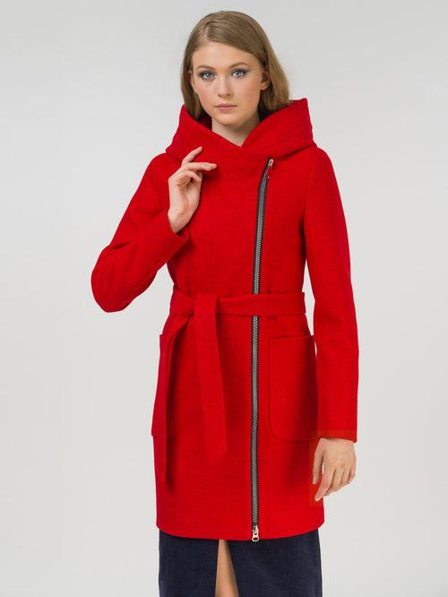 Текстильное пальто артикул 08809286/42 - фото 2