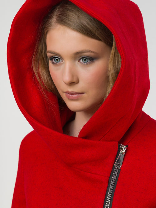 Текстильное пальто артикул 08809286/42 - фото 3