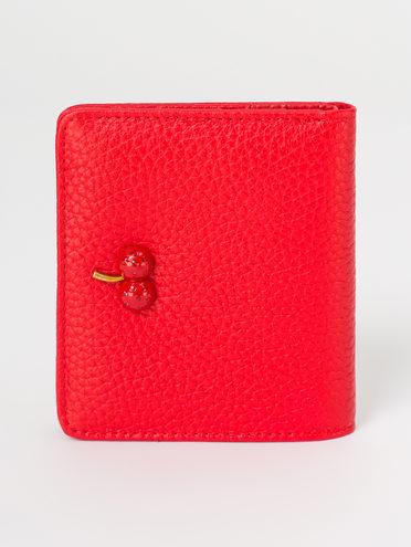 Кошелек кожа корова, цвет красный, арт. 08810495  - цена 1190 руб.  - магазин TOTOGROUP
