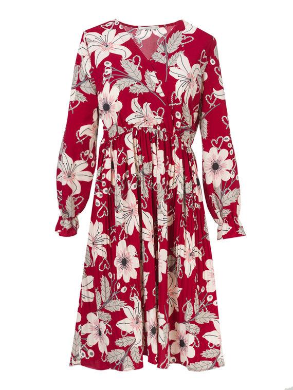 Платье , цвет красный, арт. 08810545  - цена 1190 руб.  - магазин TOTOGROUP