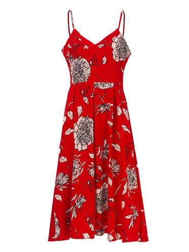 Платье 97%полиэстер, 3%эластан, цвет красный, арт. 08810555  - цена 1260 руб.  - магазин TOTOGROUP