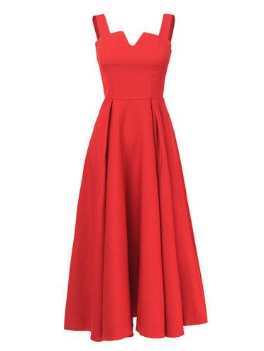 Платье , цвет красный, арт. 08810557  - цена 1490 руб.  - магазин TOTOGROUP