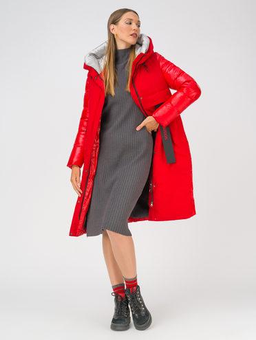 Пуховик 100% полиэстер, цвет красный, арт. 08810575  - цена 8990 руб.  - магазин TOTOGROUP
