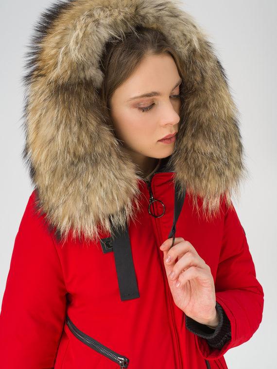 Парка 100% полиэстер, цвет красный, арт. 08810579  - цена 7990 руб.  - магазин TOTOGROUP