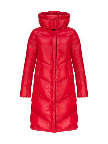 Пуховик 100% полиэстер, цвет красный, арт. 08810626  - цена 7990 руб.  - магазин TOTOGROUP