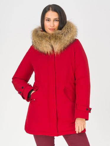 Парка 100% полиэстер, цвет красный, арт. 08810631  - цена 9490 руб.  - магазин TOTOGROUP
