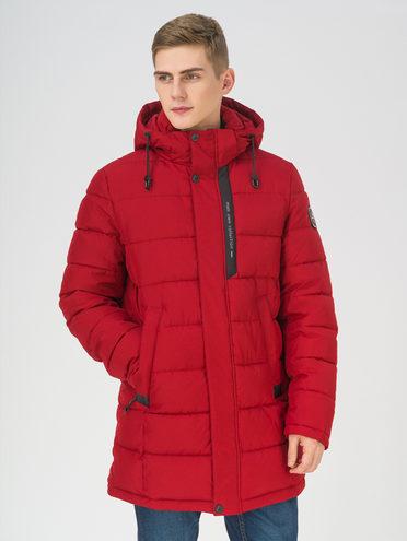 Пуховик 100% полиэстер, цвет красный, арт. 08810954  - цена 11990 руб.  - магазин TOTOGROUP