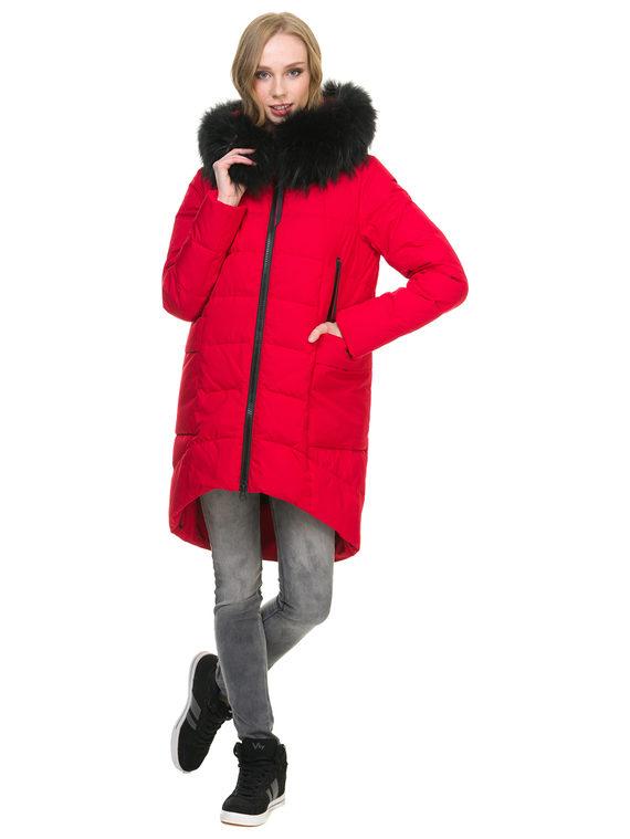Пуховик текстиль, цвет красный, арт. 08900651  - цена 7990 руб.  - магазин TOTOGROUP