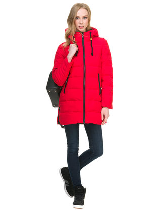 Пуховик текстиль, цвет красный, арт. 08900953  - цена 8490 руб.  - магазин TOTOGROUP