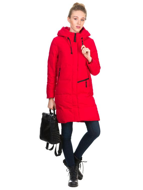 Пуховик текстиль, цвет красный, арт. 08900954  - цена 4740 руб.  - магазин TOTOGROUP