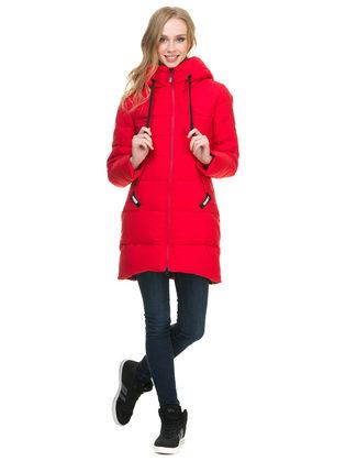 Пуховик текстиль, цвет красный, арт. 08900956  - цена 8490 руб.  - магазин TOTOGROUP