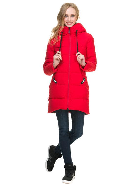 Пуховик текстиль, цвет красный, арт. 08900956  - цена 4490 руб.  - магазин TOTOGROUP