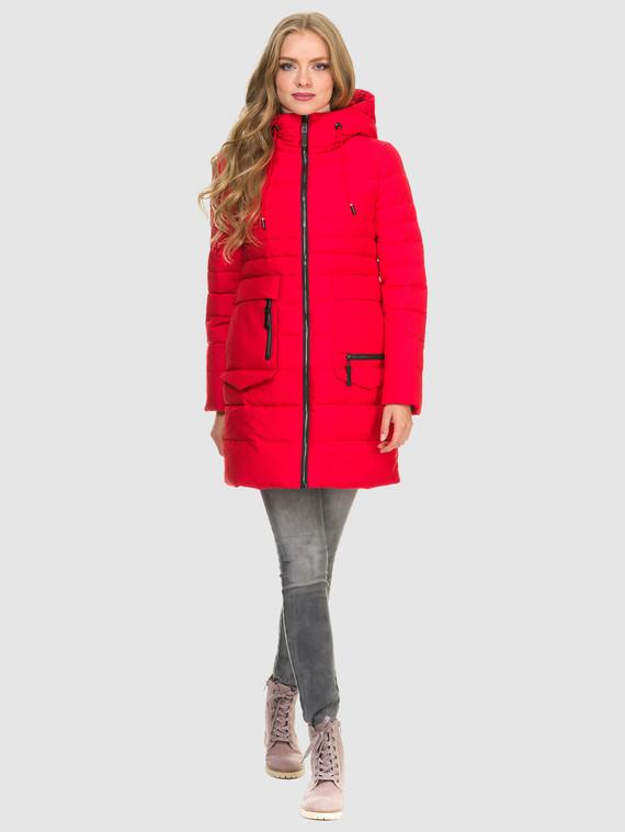 Пуховик текстиль, цвет красный, арт. 08900958  - цена 4490 руб.  - магазин TOTOGROUP