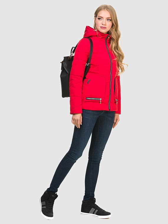 Пуховик текстиль, цвет красный, арт. 08900967  - цена 3390 руб.  - магазин TOTOGROUP