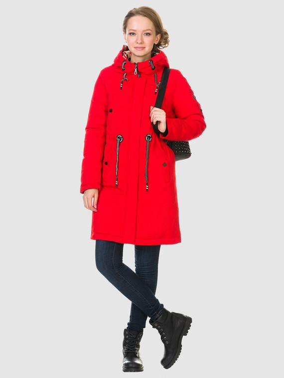 Пуховик текстиль, цвет красный, арт. 08901009  - цена 4490 руб.  - магазин TOTOGROUP