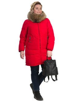 Пуховик текстиль, цвет красный, арт. 08902666  - цена 13390 руб.  - магазин TOTOGROUP