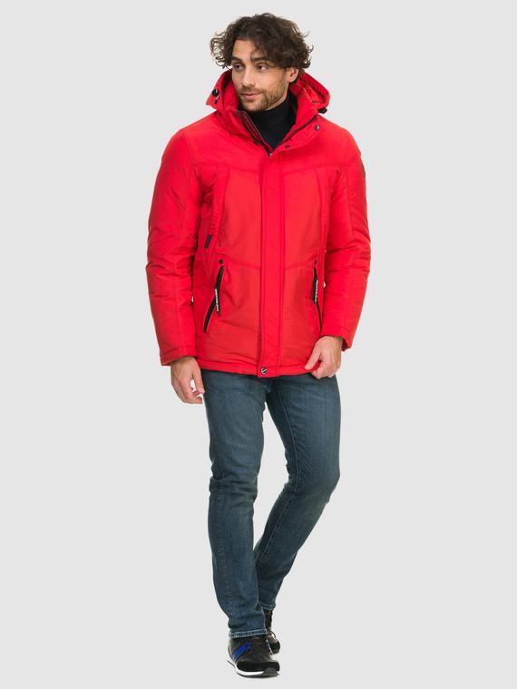 Пуховик текстиль, цвет красный, арт. 08902738  - цена 3990 руб.  - магазин TOTOGROUP