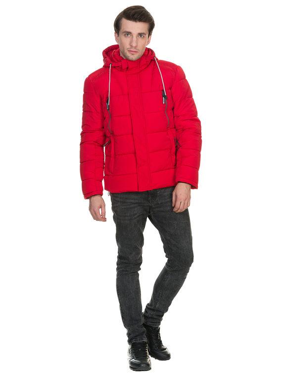Пуховик текстиль, цвет красный, арт. 08903375  - цена 3190 руб.  - магазин TOTOGROUP