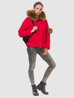 Пуховик текстиль, цвет красный, арт. 08903469  - цена 9490 руб.  - магазин TOTOGROUP