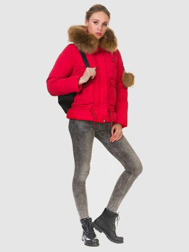 Пуховик текстиль, цвет красный, арт. 08903469  - цена 6990 руб.  - магазин TOTOGROUP