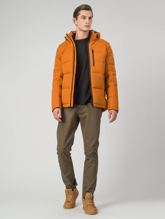 Пуховик текстиль, цвет оранжевый, арт. 10006339  - цена 4990 руб.  - магазин TOTOGROUP