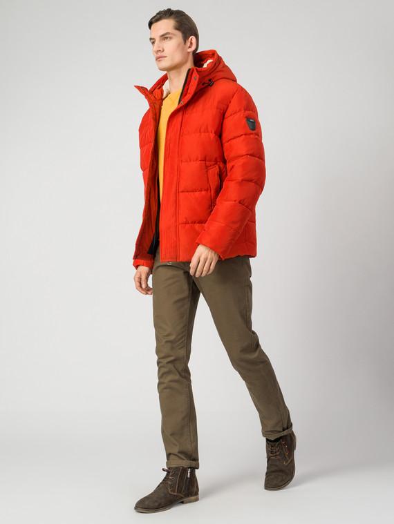 Пуховик текстиль, цвет оранжевый, арт. 10006506  - цена 3990 руб.  - магазин TOTOGROUP