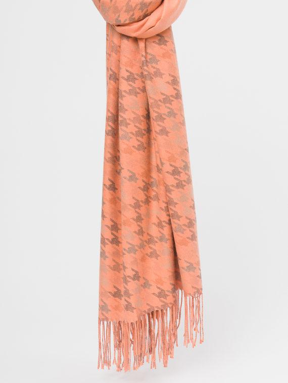 Шарф 70%кашемир,30%п\э, цвет оранжевый, арт. 10109664  - цена 1190 руб.  - магазин TOTOGROUP