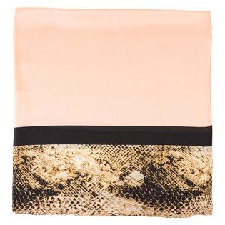 Шарф 100% шелк, цвет оранжевый, арт. 10700229  - цена 1070 руб.  - магазин TOTOGROUP