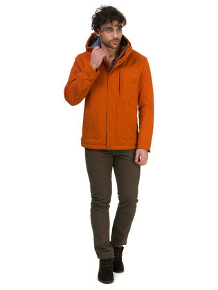 Ветровка текстиль, цвет оранжевый, арт. 10700259  - цена 5990 руб.  - магазин TOTOGROUP