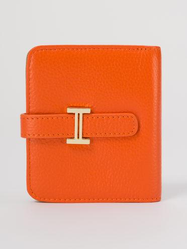 Кошелек женский кожа теленок, цвет оранжевый, арт. 10711700  - цена 990 руб.  - магазин TOTOGROUP