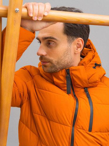 ПУХОВИК 100% полиэстер, цвет оранжевый, арт. 10711726  - цена 9990 руб.  - магазин TOTOGROUP
