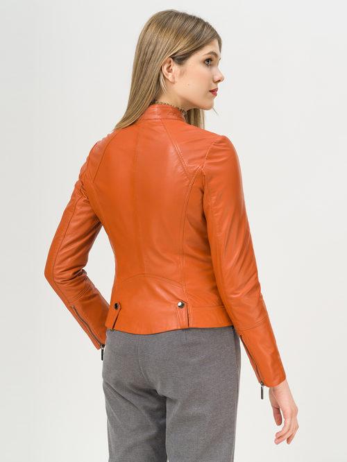 Кожаная куртка артикул 10802464/44 - фото 3
