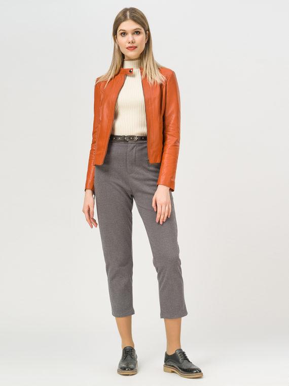 Кожаная куртка кожа, цвет оранжевый, арт. 10802464  - цена 5890 руб.  - магазин TOTOGROUP