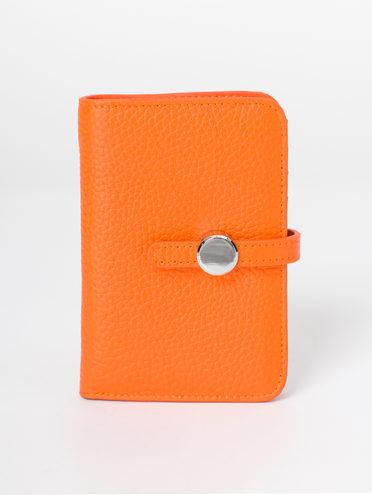 Кошелек кожа корова, цвет оранжевый, арт. 10810496  - цена 1190 руб.  - магазин TOTOGROUP