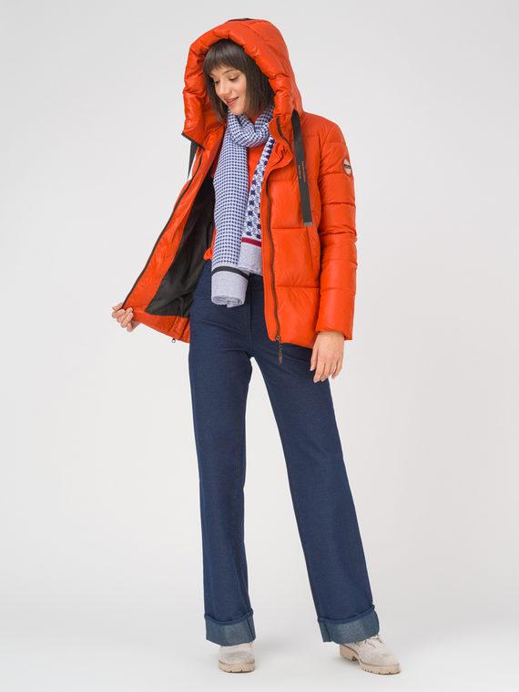 Пуховик 100% полиэстер, цвет оранжевый, арт. 10810566  - цена 4990 руб.  - магазин TOTOGROUP