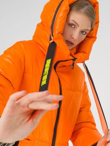 Пуховик 100% полиэстер, цвет оранжевый, арт. 10810619  - цена 6990 руб.  - магазин TOTOGROUP