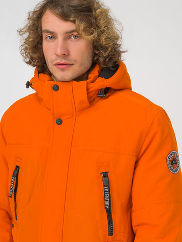 Пуховик 100% полиэстер, цвет оранжевый, арт. 10810898  - цена 10590 руб.  - магазин TOTOGROUP